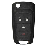Genuine Holden 4 button remote flip Key 433MHz to suit VF