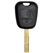 Citroen compatible 2 button HU83 remote Key housing