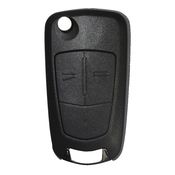 Holden compatible 2 button HU100 flip Key housing