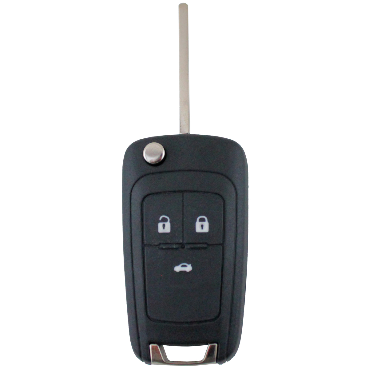 Holden Cruze compatible 3 button HU100 remote flip Key housing