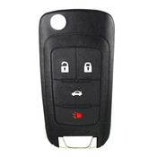 Holden compatible 4 button HU100 remote flip Key housing to Suit VF