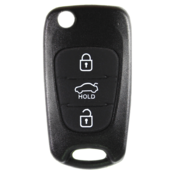Hyundai compatible 3 button TOY49 remote Key housing