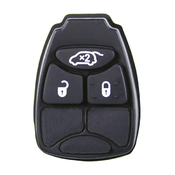Chrysler Jeep compatible 3 button replacement silicone membrane