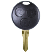 Smart Mercedes compatible 3 button remote Key housing