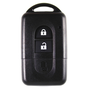Nissan compatible 2 button Smart remote housing
