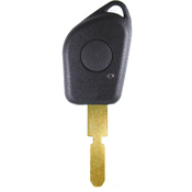 Peugeot compatible 1 button NE78 remote Key housing