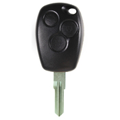 Renault compatible 3 button VAC102 remote Key housing