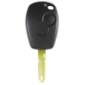 Renault compatible 2 button NE73 remote Key housing