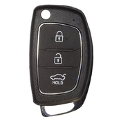 Hyundai compatible 3 button TOY49  remote Key to suit Santa Fe