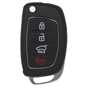 Hyundai compatible 4 button smart remote 433 MHZ