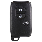 Toyota compatible 3 button TOY48 smart remote housing
