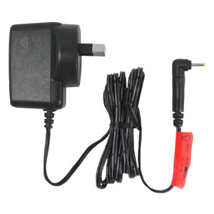 12-volt power adapter suited to garage receivers