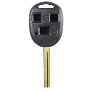 Lexus compatible durashell 3 button TOY48 remote Key housing