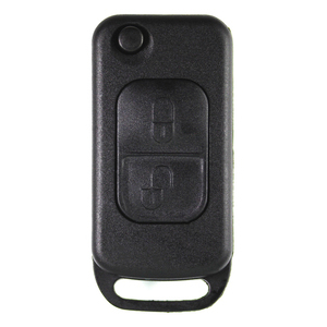 Mercedes compatible 2 button HU39 remote flip Key housing