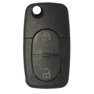 VW compatible 2 button HU66 remote flip Key housing